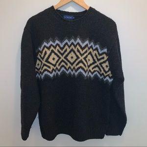 J. Crew Black Wool Sweater